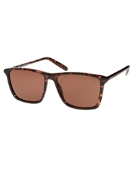 Cheap Monday Mars Wayfarer Sunglasses Brown