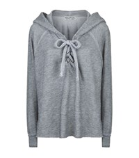 Wildfox Couture Hutton Hoodie Female Grey