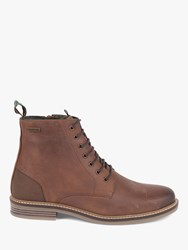 Barbour Seaham Leather Boots Timber Tan