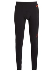P.E Nation Set Piece Performance Leggings Black Red