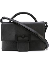 Maison Martin Margiela Maison Margiela Buckle Detail Shoulder Bag Black