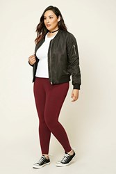 Forever 21 Plus Size Stretch Knit Pants
