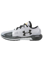 Under Armour Speedform Amp Se Neutral Running Shoes Overcast Gray Taxi Black Grey