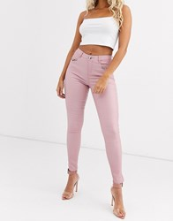 Lipsy Coated Jeans Pink