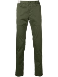 Incotex Classic Chino Trousers Green