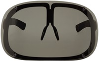 Mykita Black Mylon Saturn Visor Sunglasses