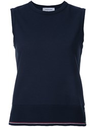 Thom Browne Classic Shell Top Blue