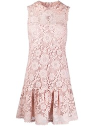 Red Valentino Redvalentino Floral Lace Embroidered Dress 60