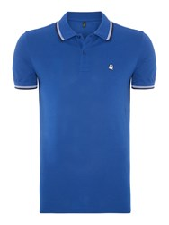 United Colors Of Benetton Regular Fit Polo Shirt Bright Blue
