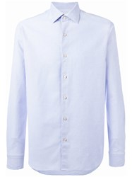 Xacus Button Up Shirt Blue