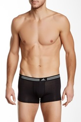 Adidas Athletic Stretch Trunk Pack Of 2 Black