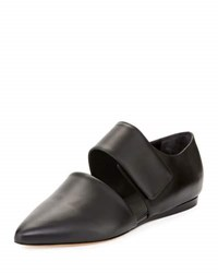Vince Niven Pointed Toe D'orsay Flat Black