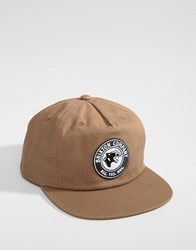 Brixton Legion Snapback Cap High Profile Brown