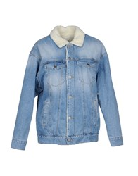 Vicolo Denim Outerwear Blue