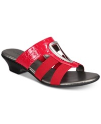 Karen Scott Engle Sandals Red