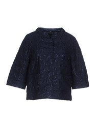 Bini Como Jackets Dark Blue