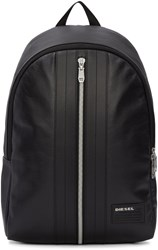 Diesel Black L Back Round Backpack