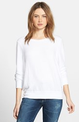 Wildfox Couture Women's Wildfox 'Baggy Beach Jumper' Pullover Clean White