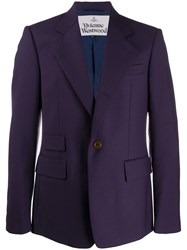 Vivienne Westwood Fitted Single Breasted Blazer 60