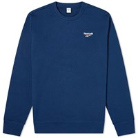 Reebok Small Vector Crew Sweat Blue