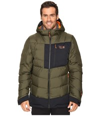 Mountain Hardwear Therminator Parka Peatmoss Men's Coat Green