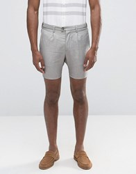 Selected Cotton Shorts Beige