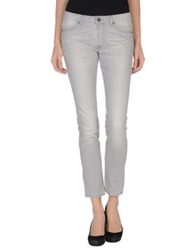 Twenty Easy By Kaos Denim Pants Light Grey