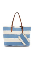 Splendid Key Largo Striped Tote Deep Water Stripe
