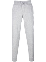Moncler Slim Fit Track Pants Grey
