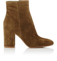 Gianvito Rossi Women's Rolling Suede Ankle Boots Green