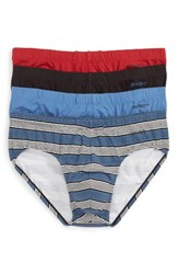 2Xist Men's 2 X Ist 4 Pack Stretch Cotton Bikini Briefs