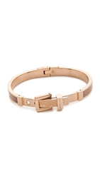 Michael Kors Mk Buckle Bangle Bracelet Rose Gold