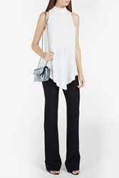 Proenza Schouler High Neck Sleeveless Top White