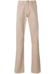 Versace Jeans Classic Chinos Nude And Neutrals