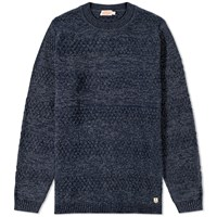 Armor Lux 74171 Heavy Marl Knit Blue