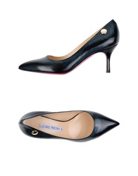Luciano Padovan Pumps Dark Blue
