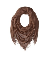 Chan Luu Cashmere And Silk Scarf Apple Cinnamon Scarves Brown