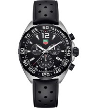 Tag Heuer Caz1110.Ft8023 Formula 1 Steel And Rubber Watch