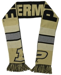 Forever Collectibles Purdue Boilermakers Reversible Split Logo Scarf