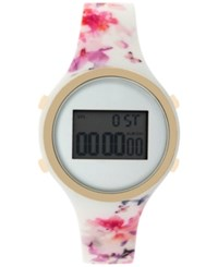 Inc International Concepts Women's Digital Silicone Strap Watch 38Mm Only At Macy's Floral