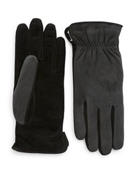 Grandoe Suede Touch Gloves Charcoal
