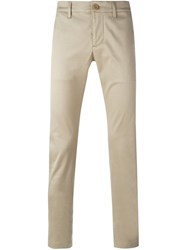 Saint Laurent Classic Chinos Nude And Neutrals