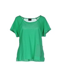 Gotha Topwear T Shirts Women Green