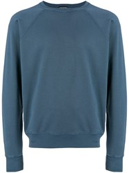 Tom Ford Relaxed Fit Sweatshirt Blue