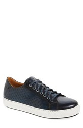 Men's Magnanni 'Blanco' Sneaker Navy Leather