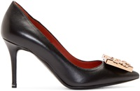 Acne Studios Black And Bronze Andrea Nappa Pumps