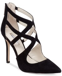 Bcbgeneration Torpido Caged Dress Heels Women's Shoes Black