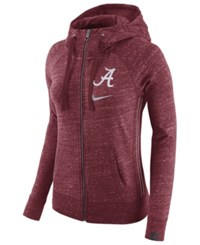 Nike Women's Alabama Crimson Tide Vintage Full Zip Hoodie Red