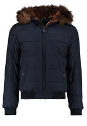 Redskins Wallas Winter Jacket Dark Navy Dark Blue