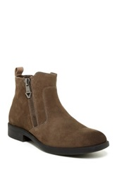 Guess Paulie Leather Boot Brown